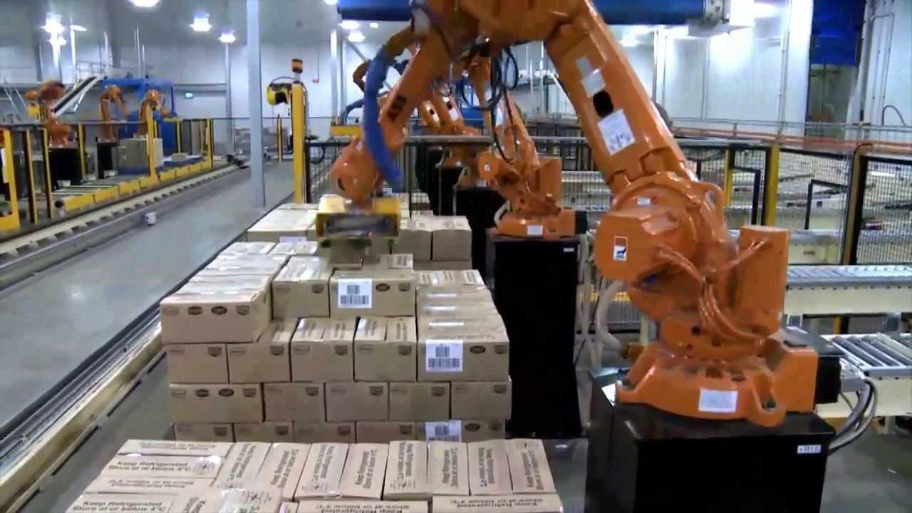 Automation og produktionslinjer