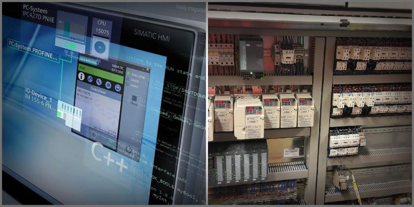 PLC programmering og styretavler