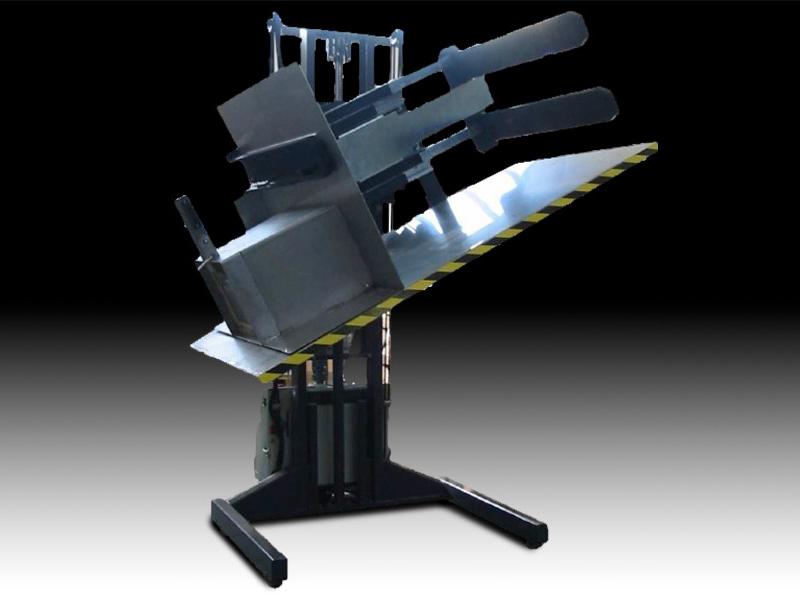 Mobil pallevender model Octabin - til produkt tømning