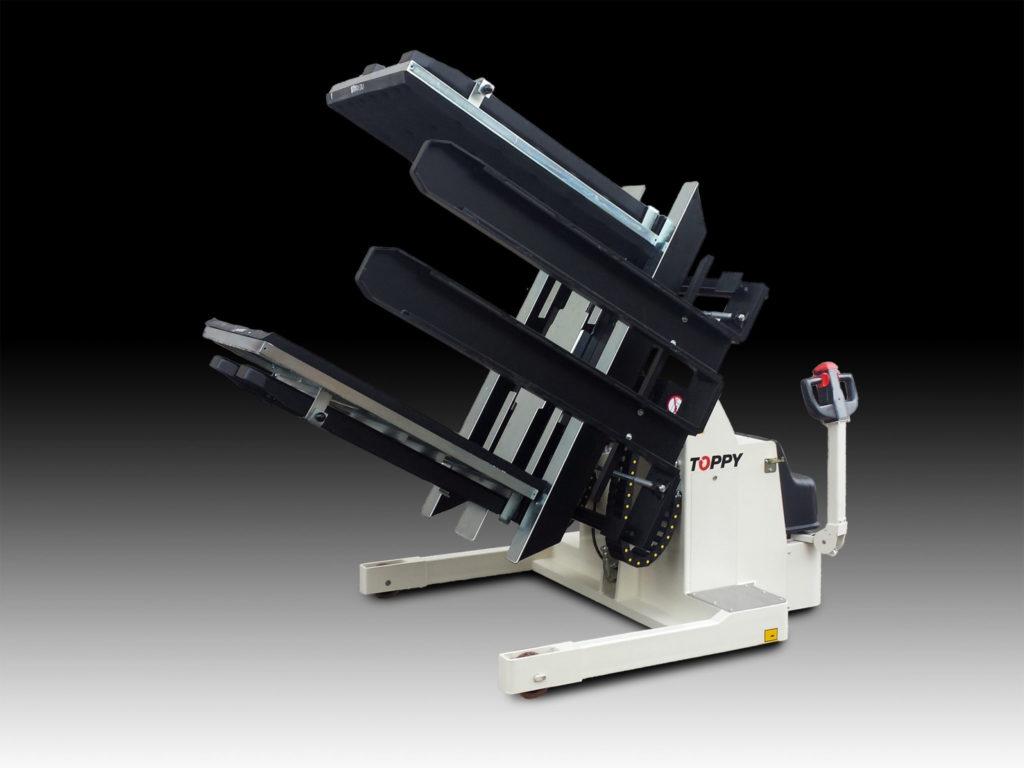 UDLEJNING - Mobil pallevender model Toppy Maxi PH - SPEC 2500